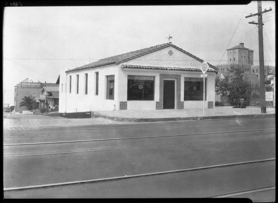 The Santa Monica District Office in 1928