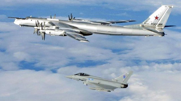 Nato reports surge in jet interceptions as Russia tensions increase | World news | The Guardian
