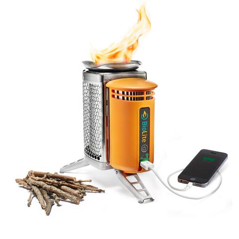 BioLite CampStove   Burn Wood, Cook Meals, Charge Gear