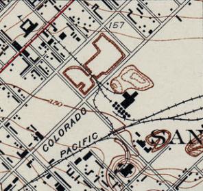 1931 - USGS Survey map