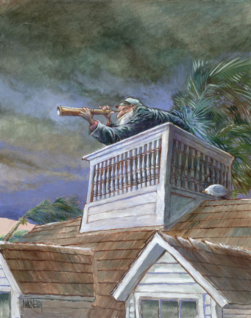 """The Wrecker"", by Jeff MacNelly"
