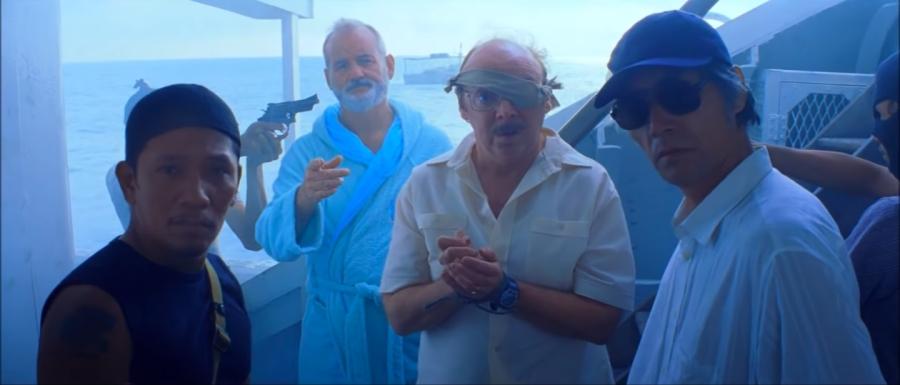 "Scene from the film ""Life Aquatic"""